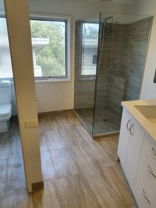 bathroom renovation in Macleod
