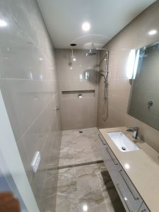 bathroom reno Breamlea