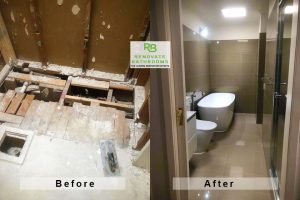 bathroom renovation Russells Bridge